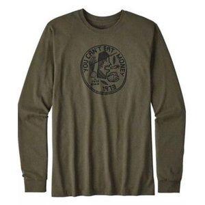 Patagonia Men's Olive Green Long Sleeve Shirt